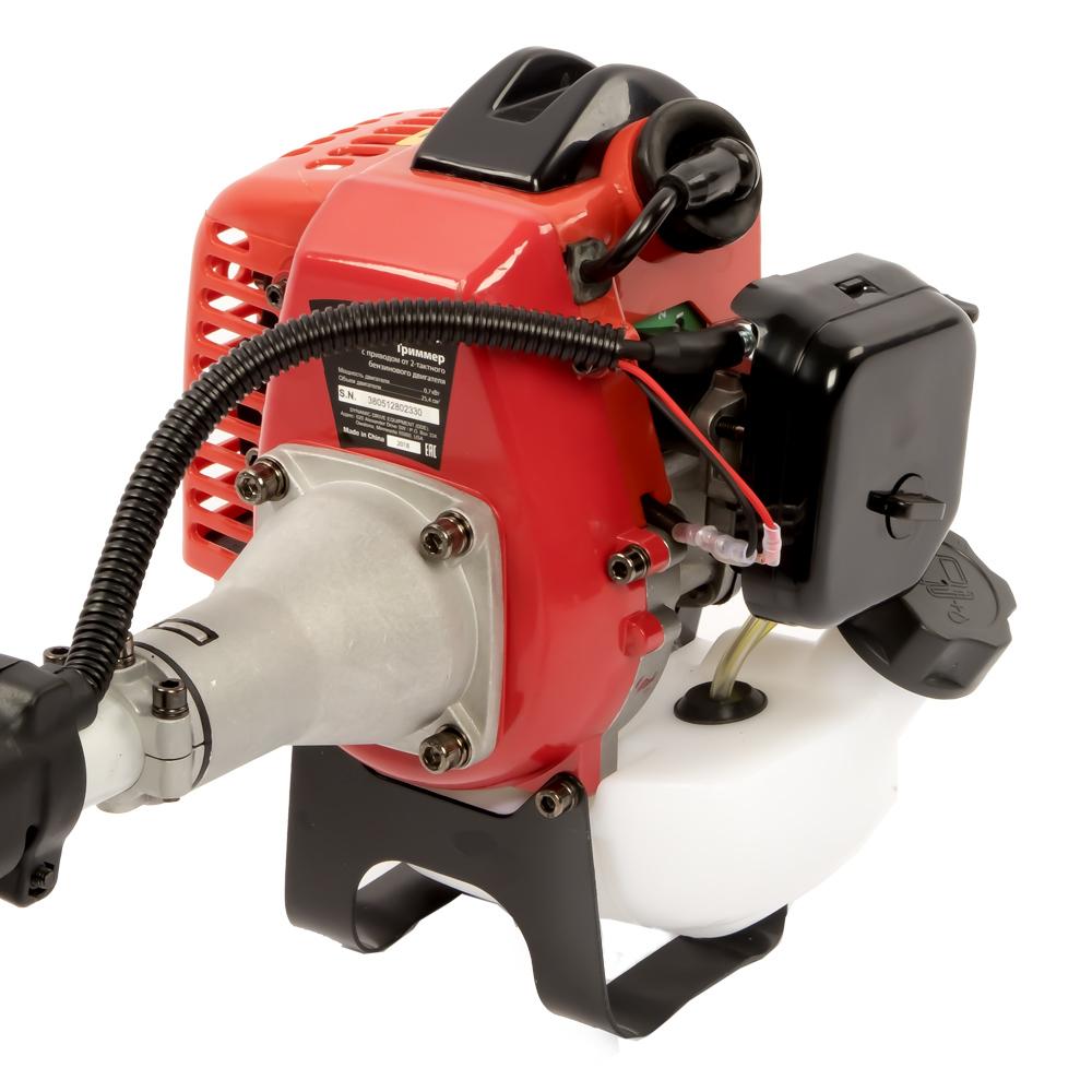 Фото Триммер бензиновый разъемный (изогнутый вал) DDE GT250L (0,75 кВт/1 л. c. 25 куб. см, 38 см, трим. головка, 4,6 кг) {790-014} (4)