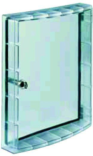 Фото Дверца прозрачная с защитой IP54 и замком T7M-X1 прозр. ABB 1SDA062161R1