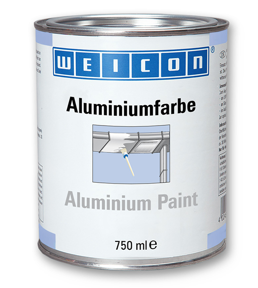 Фото Защитное покрытие Weicon Aluminum Paint, алюминий (750 мл) {wcn15002750}