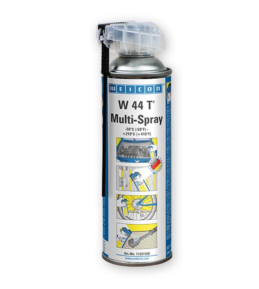 Фото Универсальная смазка Weicon W 44 T Multi-Spray высокой эффективности (спрей 500 мл) {wcn11251550}