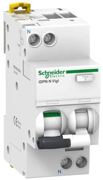 Фото Дифференциальный автоматический выключатель iDPN N VIGI 6KA 20A C 300MA AC {A9D41620}