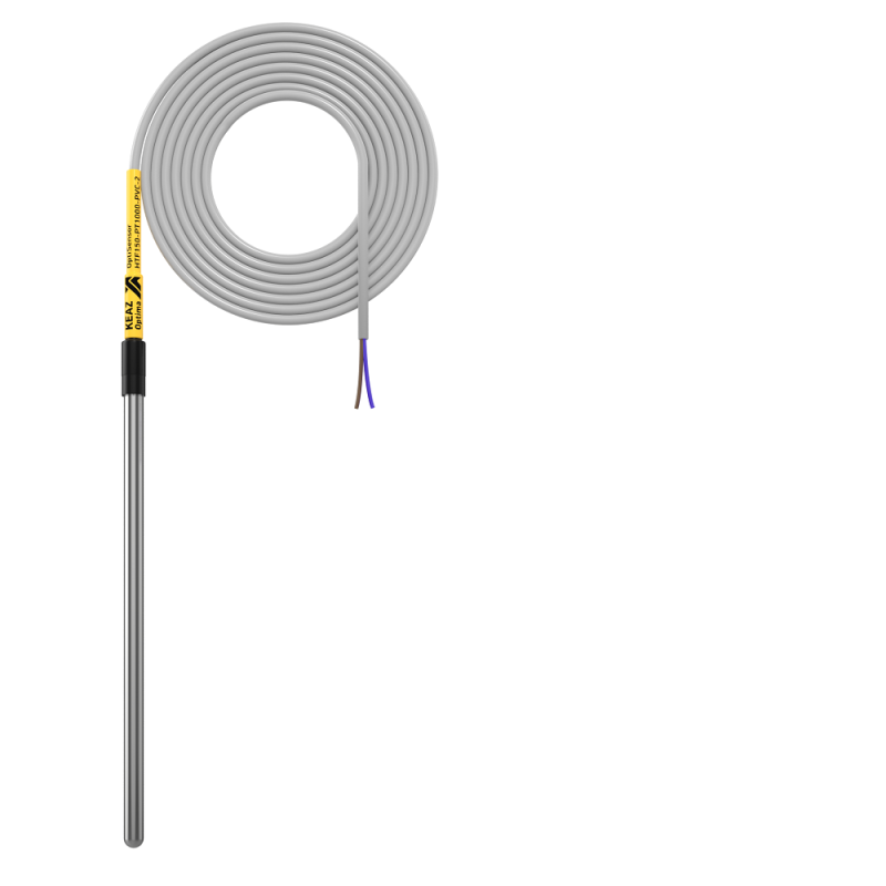 Фото Датчик температуры канальный OptiSensor HTF150-PT1000-PVC-2 КЭАЗ 286494