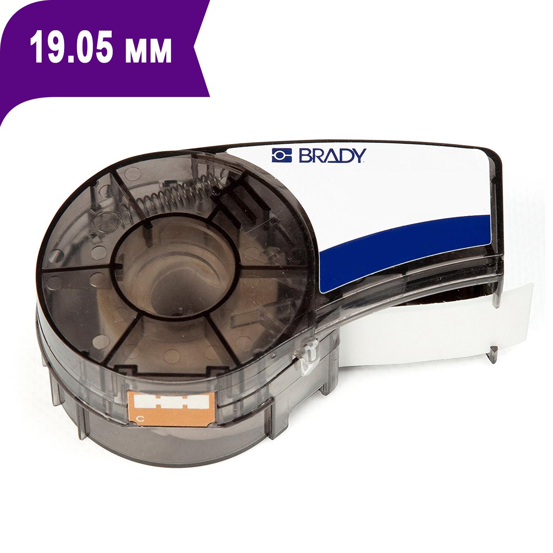 Фото Лента Brady M21-750-595-PL (19.05 мм, белый на фиолетовом) {brd139734}