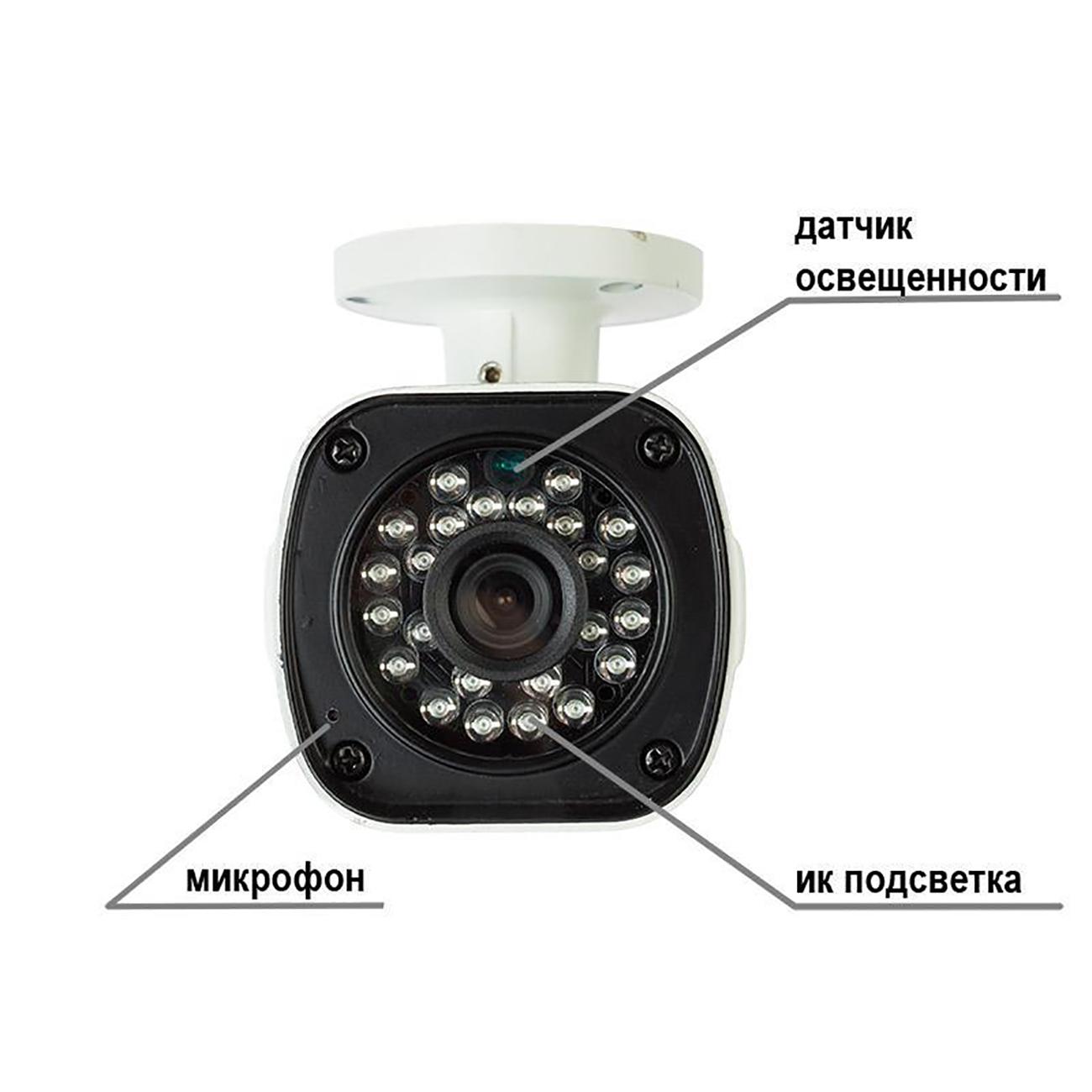 Фото Беспроводная уличная WiFi Smart Rexant камера с микрофоном {45-0274} (1)