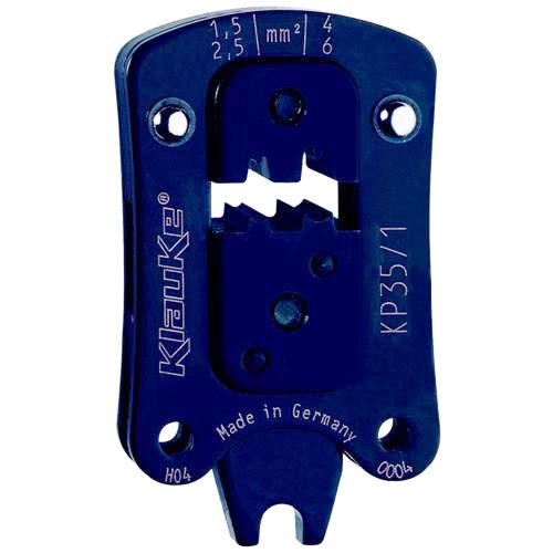 Фото Сменная голова Klauke-Pro для втулочных наконечников 1.5 - 6 мм² (круглый обжим) {klkKP351}