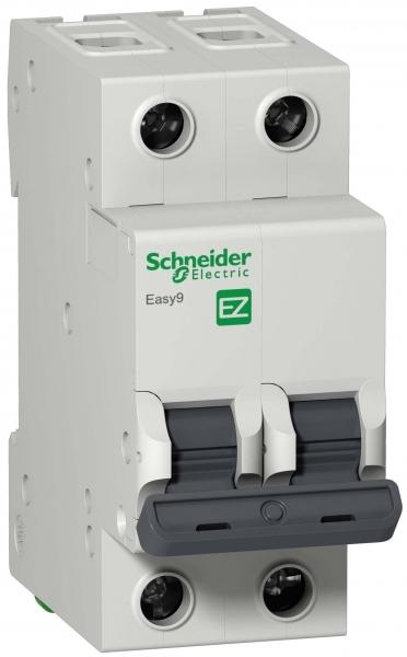 Фото Автоматический выключатель  EASY 9 2п 40а с 4,5ка 230в =S= {EZ9F34240}