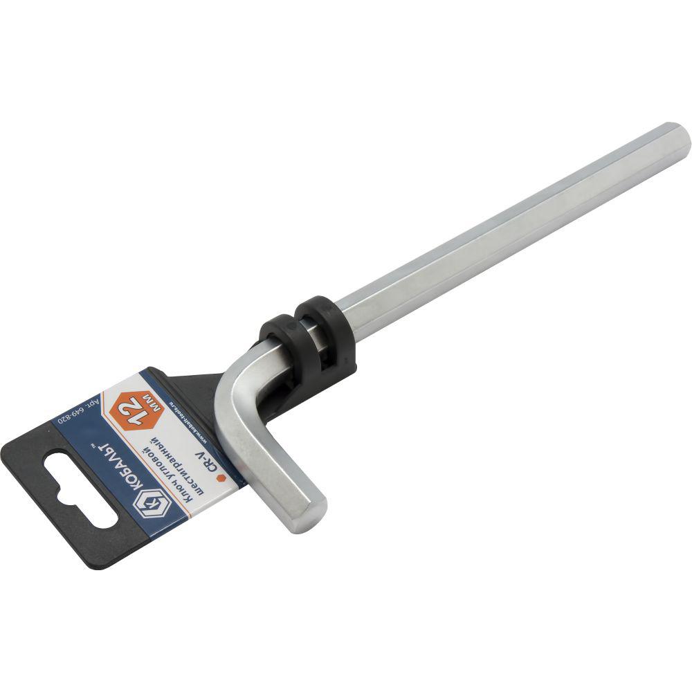 Фото Ключ угловой шестигранный КОБАЛЬТ 12 мм {649-820} (1)