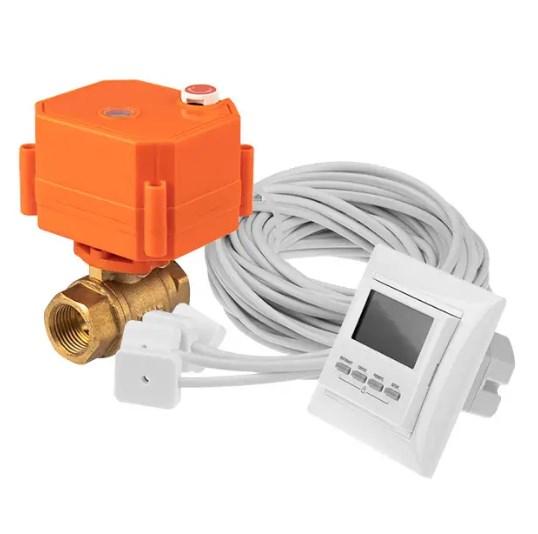 Фото Cистема контроля протечки воды (2 крана - 3/4 дюйма) Nautilus RT20-2 REXANT {82-0205}