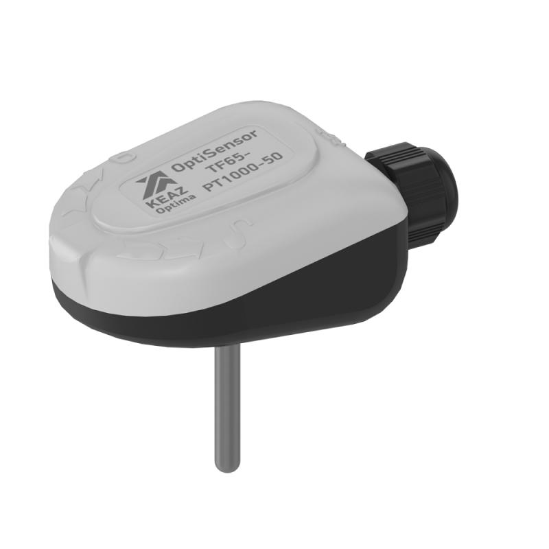 Фото Датчик температуры канальный OptiSensor TF65-PT1000-50 КЭАЗ 286501