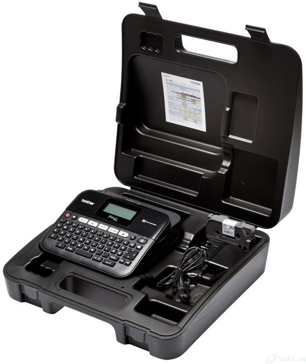 Фото Принтер для печати этикеток Brother PT-D450VP ручной {PTD450VPR1} (1)