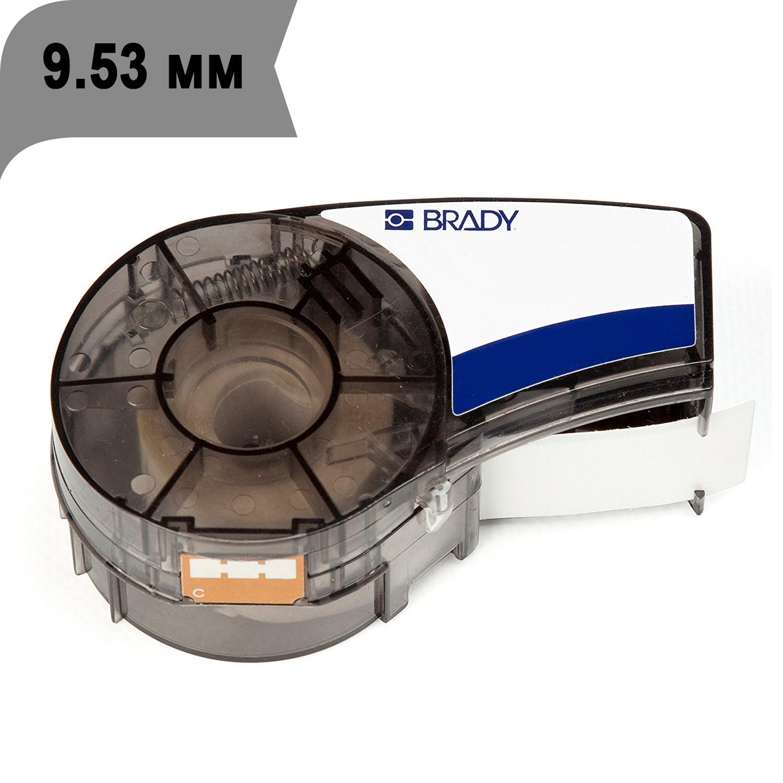 Фото Лента Brady M21-375-595-GY (9.53 мм, черный на сером) {brd139738}
