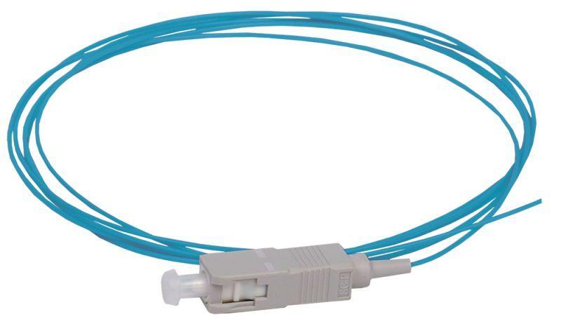 Фото Пигтейл для многомодового кабеля (MM); 50/125 (OM4); SC/UPC; LSZH (дл.1.5м) ITK FPT5004-SCU-C1L-1M5