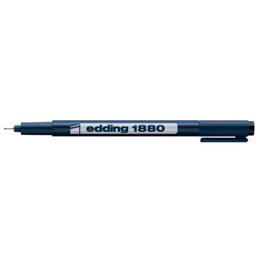 Фото Набор ручек для черчения Edding, 4 штуки, черный {E-1880#4S#1} (1)