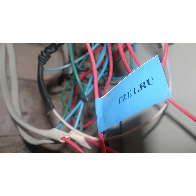 Фото Лента Vell VL-521 (Brother TZE-521, 9 мм, черный на синем) для PT 1010/1280/D200/H105/E100/ D600/E300/2700/ P700/E550/9700 {Vell521} (2)