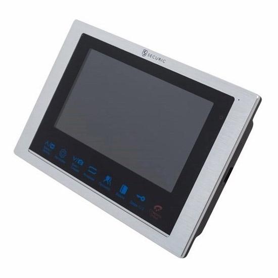 """Фото Цветной монитор видеодомофона 7"""" формата AHD, с сенсорным управлением, с детектором движения, функцией фото- и видеозаписи (модель AC-336) {45-0336}"""