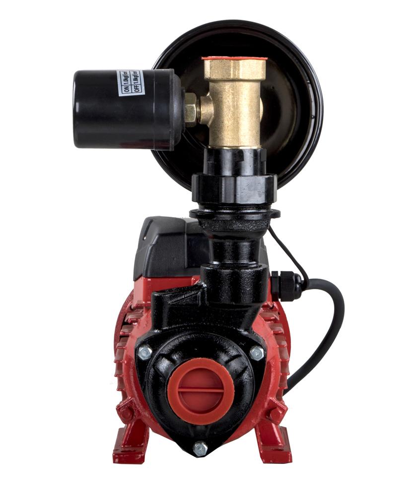 Фото Насосная станция Quattro Elementi Automatico 401 Ci (400 Вт, 2100 л/ч, для чистой, 32 м, 5,4 кг) {918-597} (2)