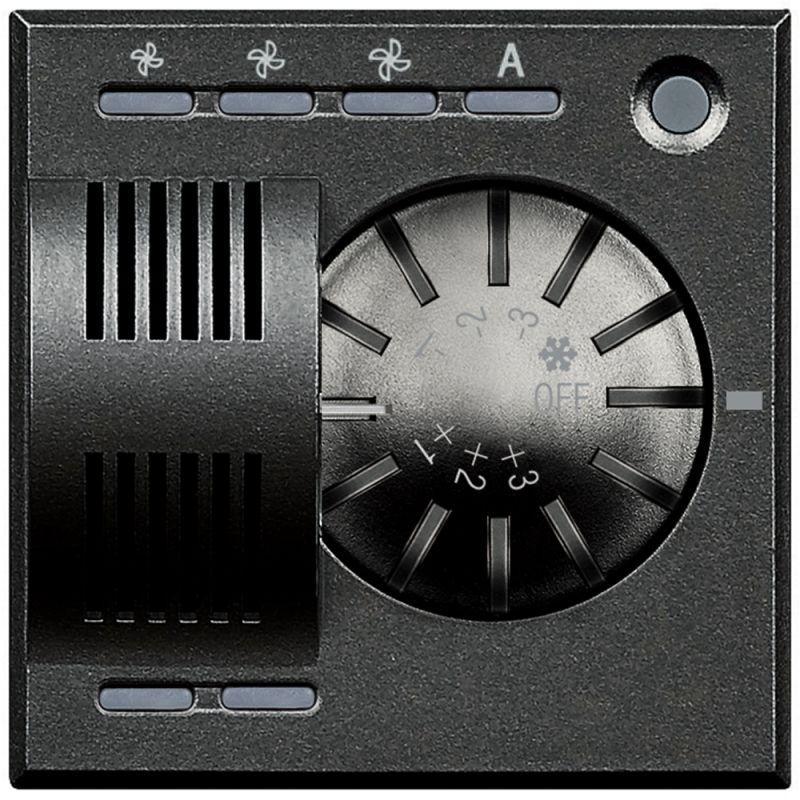 Фото Датчик температуры Axolute темн. Fan-coil Leg BTC HS4692FAN