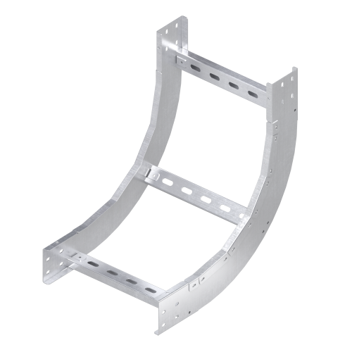 Фото Угол для лотка вертикальный внутренний 90град. 150х200 R600 1.5мм нерж. сталь AISI 304 DKC ILIM61520C