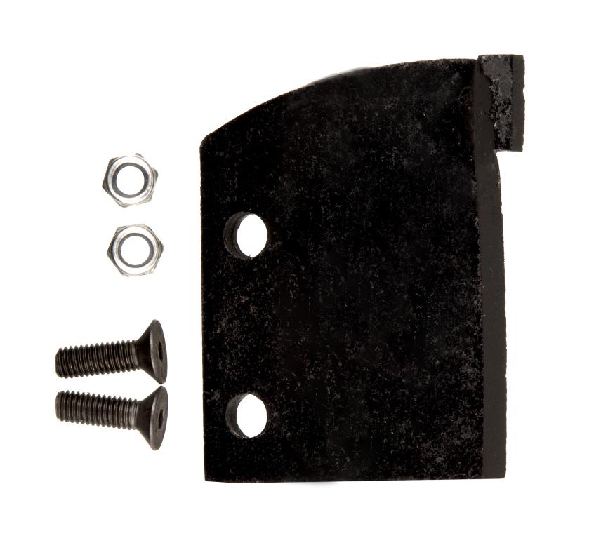 Фото Нож сменный однозаходного шнека для грунта DDE 150 мм (один) {SK-150} (1)