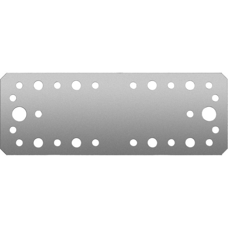 Фото Крепежная пластина КП-2.5, 180х65 х 2.5мм, ЗУБР {31023-180}