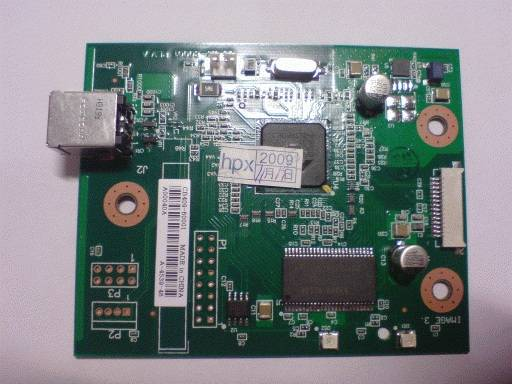 Фото Плата форматера (не сетевая) HP LJ 1020, 1018 (CB409-60001, Q5426-60001, CB440-60001)