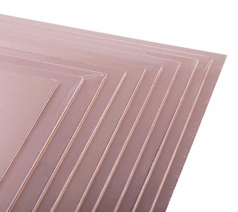 Фото Стеклотекстолит Rexant двухсторонний, 200x250x1.5 мм 35/35 (35 мкм) {09-4063} (3)