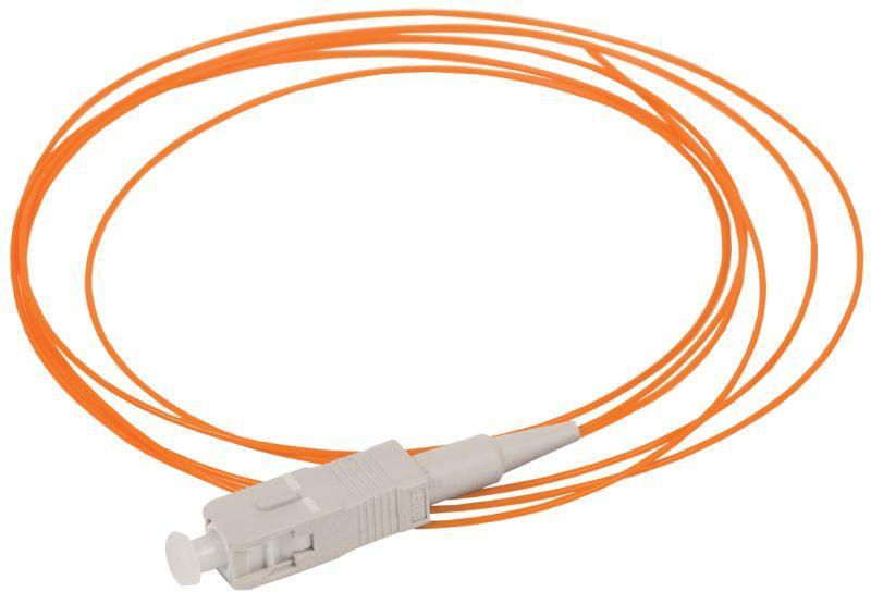 Фото Пигтейл для многомодового кабеля (MM); 50/125 (OM2); SC/UPC; LSZH (дл.1.5м) ITK FPT50-SCU-C1L-1M5