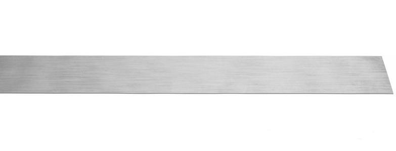 Фото Лента полоса монтажная оцинкованная прямая, упаковочная Rexant 20х0,55 мм, рулон 25 м {07-7122-4} (1)