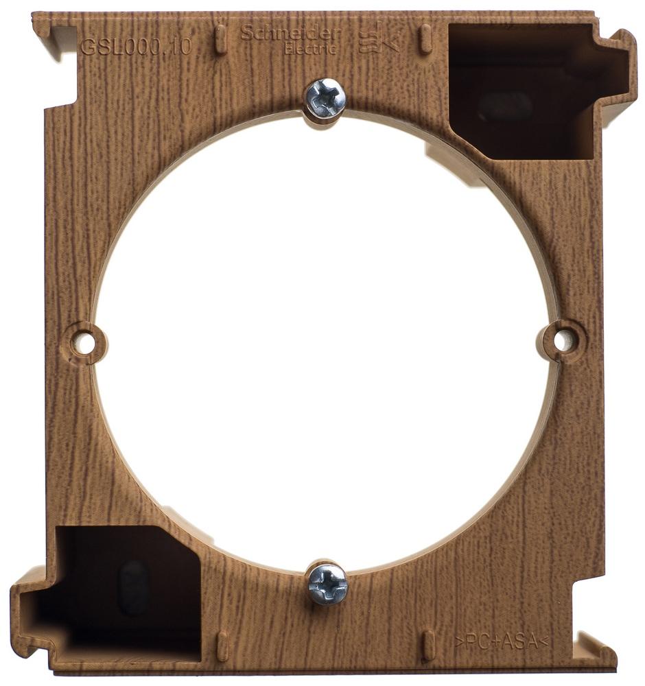 Фото Расширение коробки наружного монтажа GLOSSA, дуб {GSL000500C}