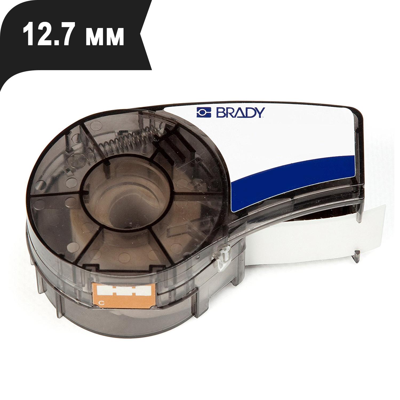 Фото Лента Brady M21-500-595-BK (12.7 мм, белый на черном) {brd139742}
