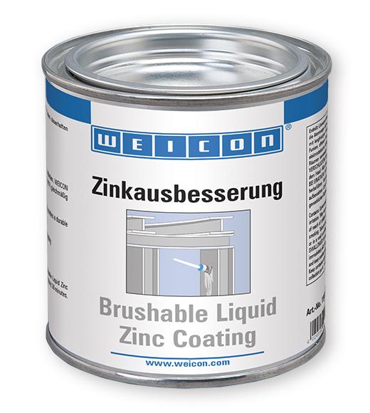 Фото Защитное покрытие Weicon Brushable Zinc Coating, цинк (375 мл) {wcn15001375}
