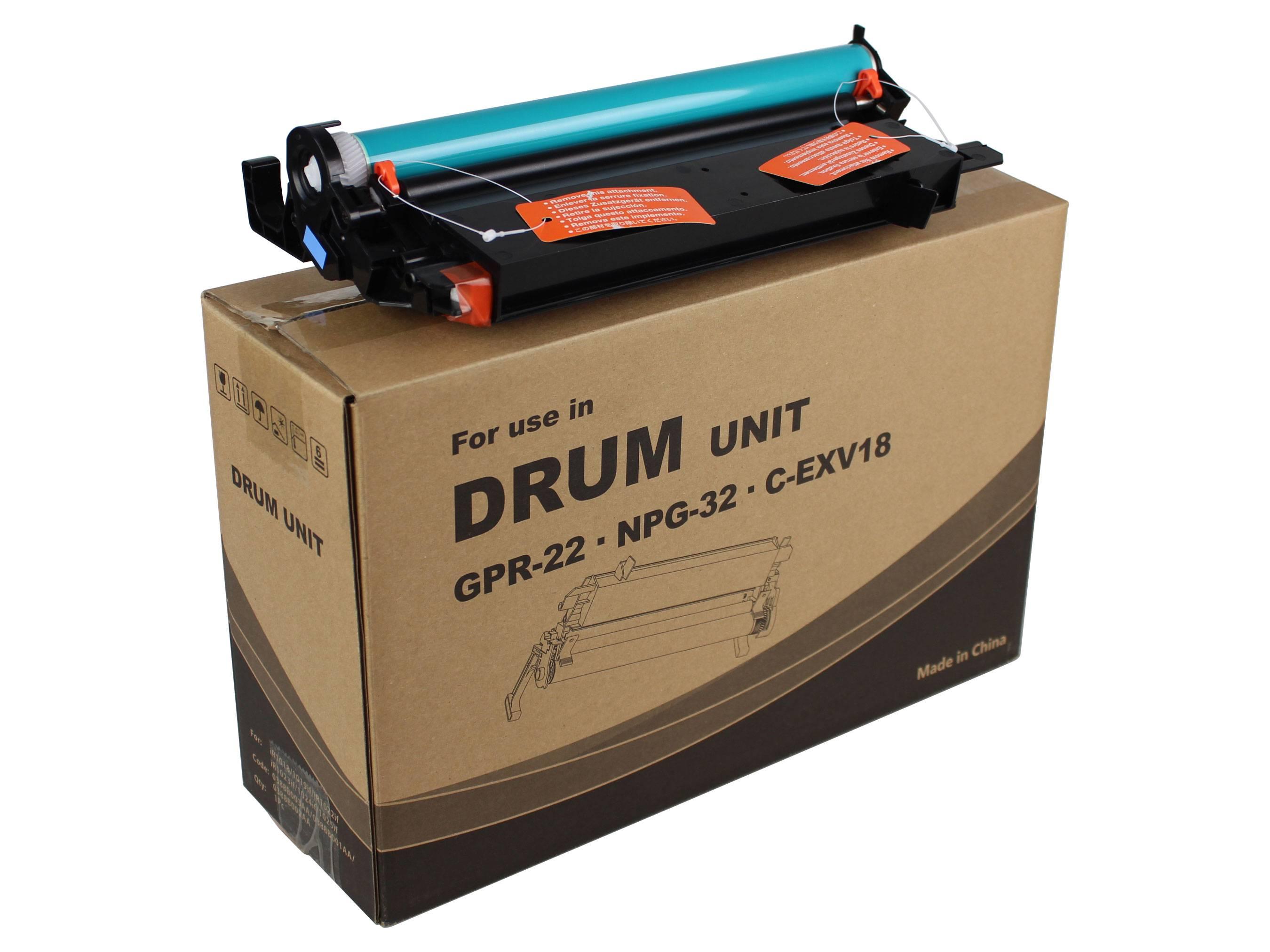 Фото Блок барабана Canon iR 1018, 1020, 1022, 1023, 1025 Drum Unit (C-EXV18, NPG-32, GPR-22) (JPN) {5818U}