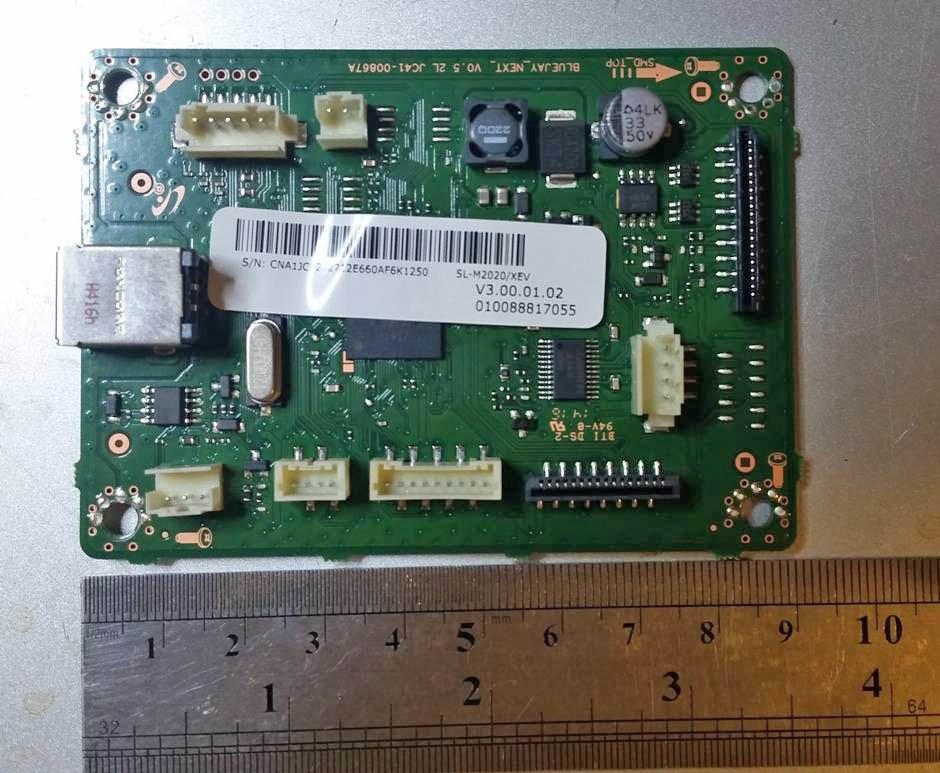 Фото Плата форматера Samsung SL-M2020 (JC92-02712E)