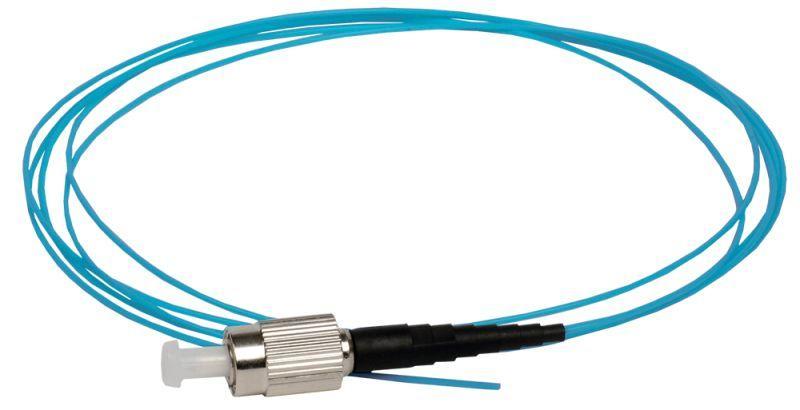 Фото Пигтейл для многомодового кабеля (MM); 50/125 (OM4); FC/UPC; LSZH (дл.1.5м) ITK FPT5004-FCU-C1L-1M5