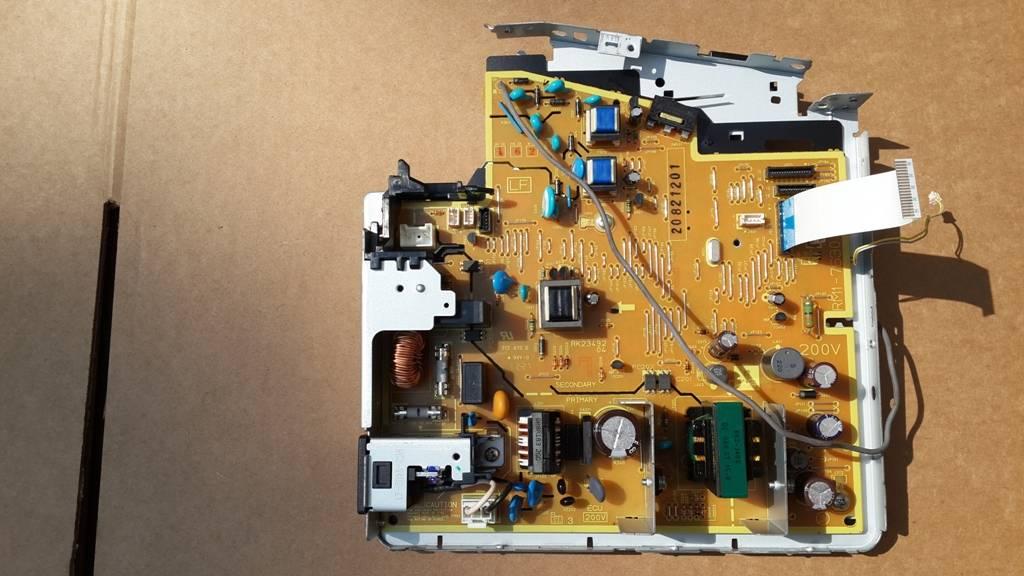 Фото Плата DC-контроллера HP LJ M1536 (RM1-7630)