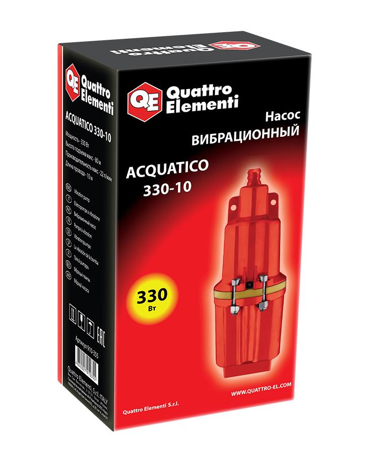 Фото Вибрационный насос Quattro Elementi Acquatico 330-10 (330 Вт, 1320 л/ч, для чистой, 80 м, кабель 10 м, 3,2 кг) {910-355} (5)