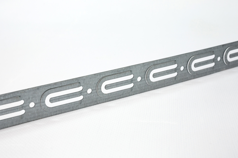 Фото Монтажная перфорированная лента для теплого пола Rexant 20х0,55 мм (20 м) {07-7121-4} (1)