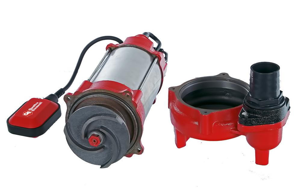 Фото Фекальный насос Quattro Elementi Sewage 500F Ci (500 Вт, 16000 л/ч, для грязной, 12 м, 16,0 кг) {910-157} (5)