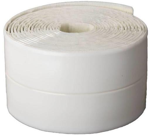 Фото Лента бордюрная для ванн и раковин, STAYER Profi 12341-30-30, самоклеящаяся, профиль L, цвет белый, 30 х 30мм х 3,35м