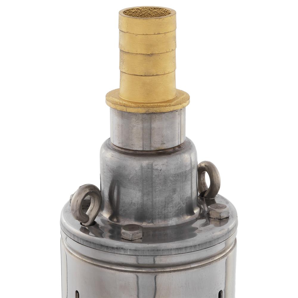 Фото Глубинный насос Quattro Elementi Elica 500 (500 Вт, 2600 л/ч, для чистой, 50 м, 7.8 кг, нержавеющий корпус, провод 10 м) {246-975} (2)