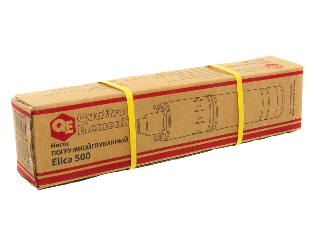 Фото Глубинный насос Quattro Elementi Elica 500 (500 Вт, 2600 л/ч, для чистой, 50 м, 7.8 кг, нержавеющий корпус, провод 10 м) {246-975} (3)