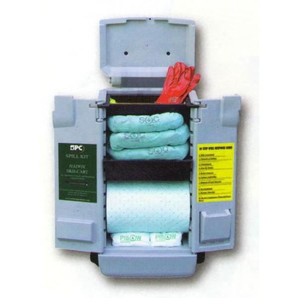 Фото Комплект-шкафчик SKH-CART на колёсиках, для химикатов (59 л) {spc813880}