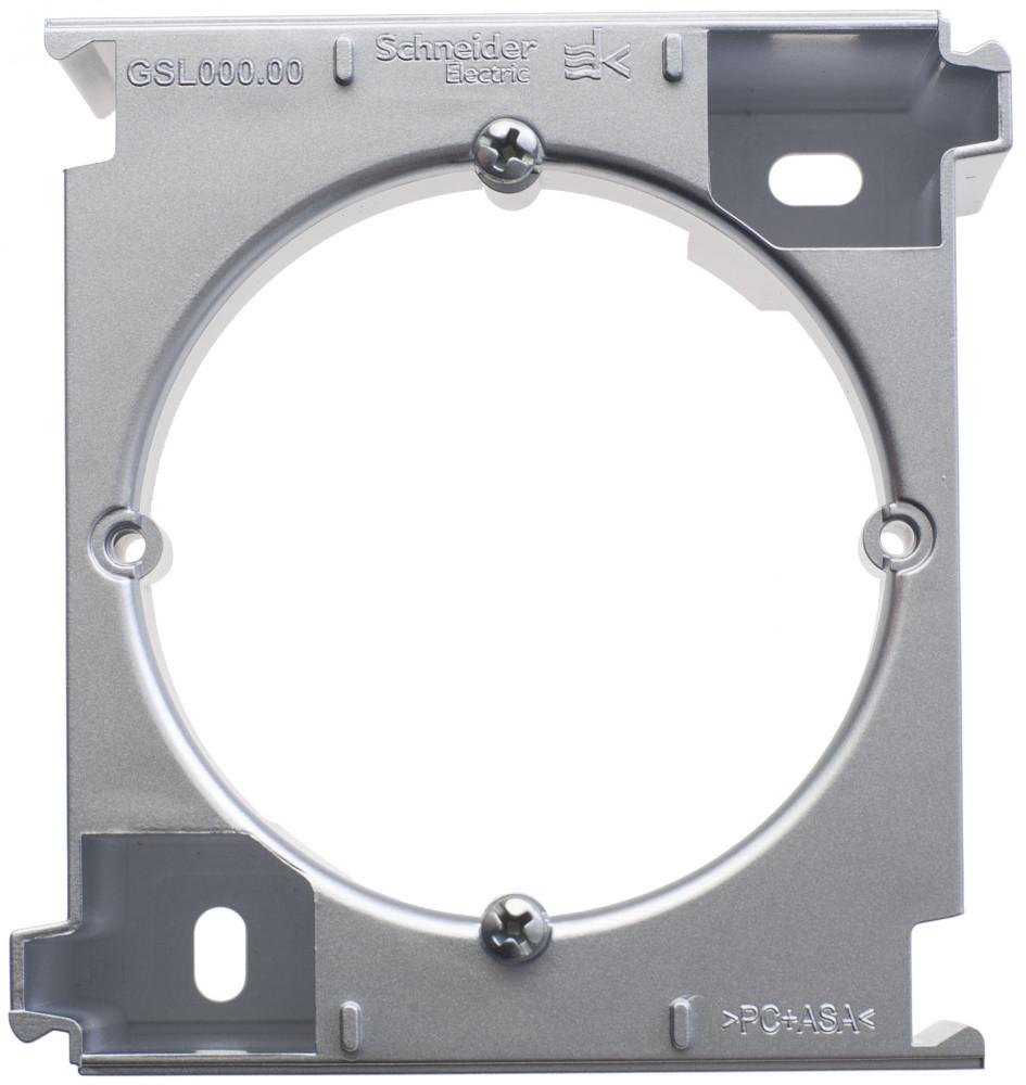 Фото Расширение коробки наружного монтажа GLOSSA, алюминий {GSL000300C}