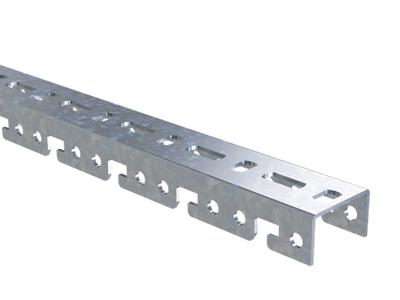 Фото Профиль BPF для консолей L600 толщ. 2.5мм гор. оцинк. DKC BPF2906HDZ