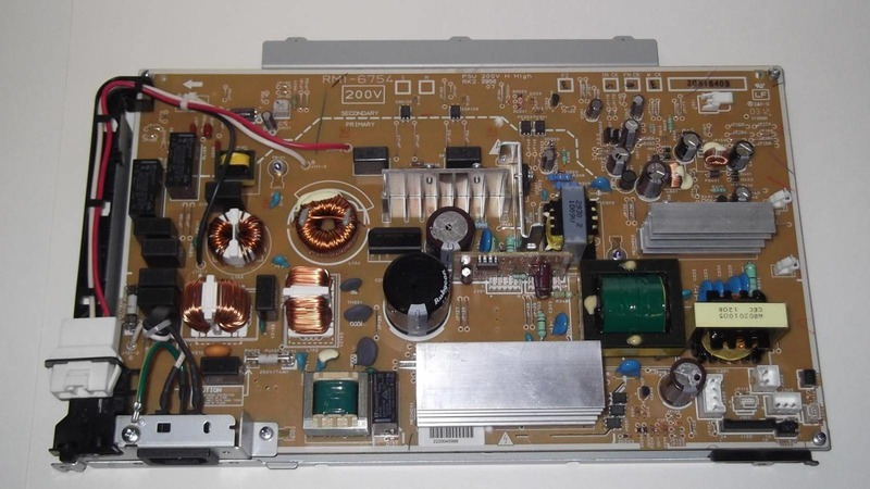 Фото Плата питания низковольтная HP CLJ CP5525/M750 (RM2-7337/RM1-6754) {RM2-7337-000CN}
