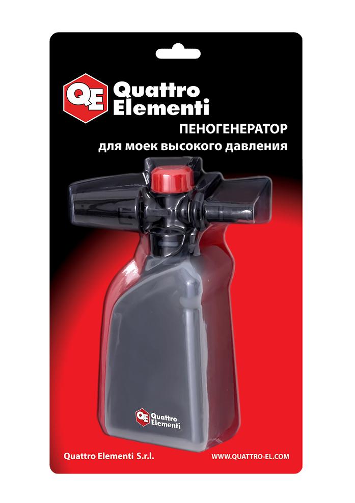 Фото Пеногенератор Quattro Elementi 0.4 л, пластиковый, для Palermo, Verona, Napoli, Genova {248-412}