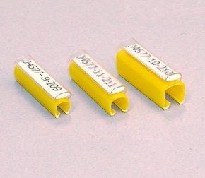 Фото Жесткие вставки Brady BM71D-5-7696-YL, 30 х 4.4 мм, желтые {brd622235} (1)