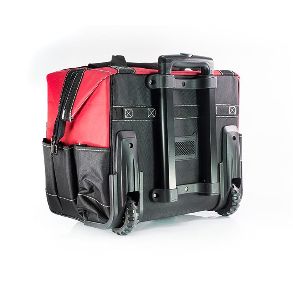 Фото Сумка-тележка электромонтажника для инструментов КВТ С-02 на колесиках {75457} (1)