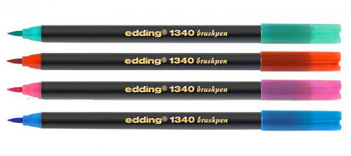 Фото Набор маркеров Edding Е-1340/10s, 10 наборов по 10 цветов, 118х202х320 мм {E-51.150} (1)