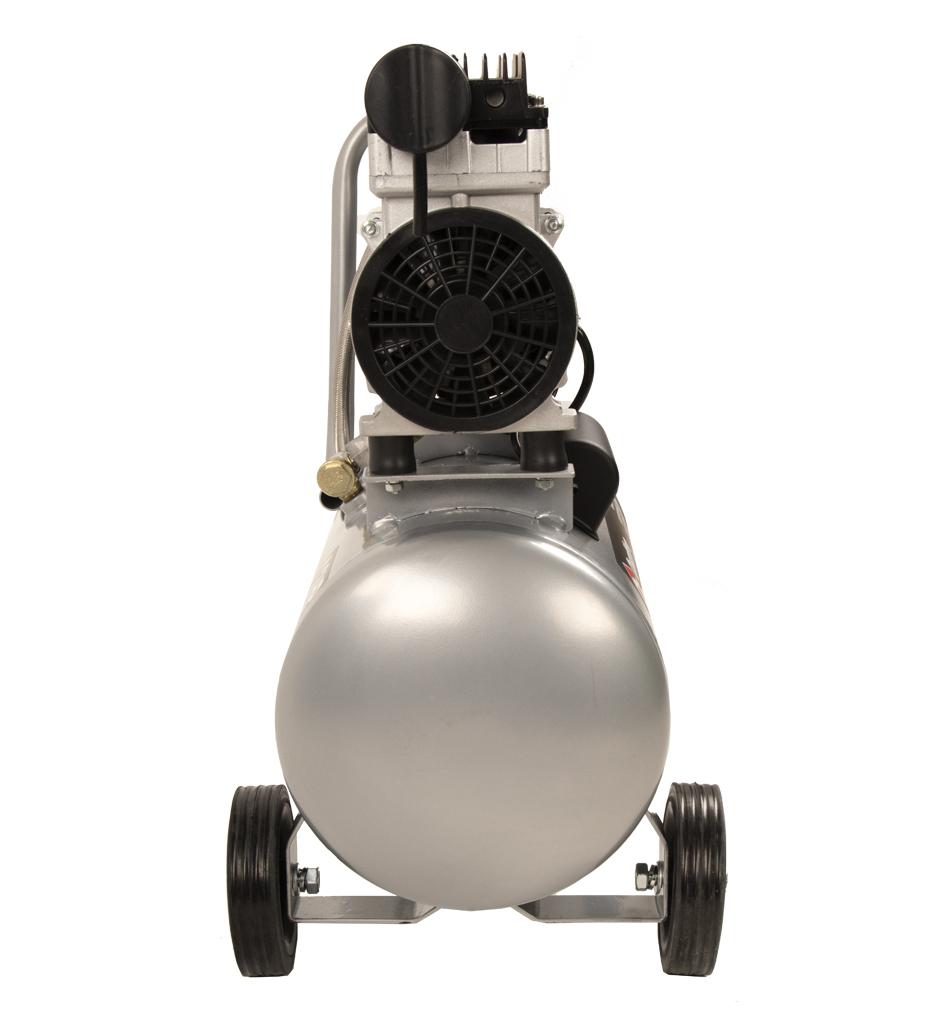 Фото Компрессор поршневой безмасляный Quattro Elementi PACIFIC-24 (160 л/мин, 24 л, 1,2 л.с, 8 бар, 19 кг, малошумный) {911-475} (2)
